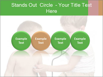 Boys Play Doctors PowerPoint Templates - Slide 76