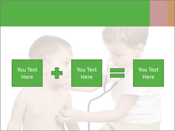Boys Play Doctors PowerPoint Template - Slide 95