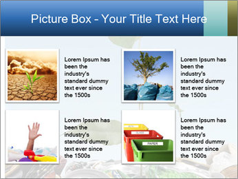 Metalic Can Garbage PowerPoint Template - Slide 14