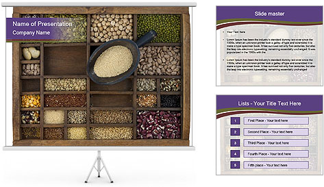 Food Stock PowerPoint Template