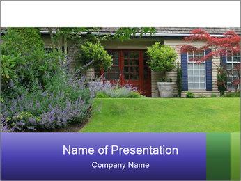 Green Neighbourhood PowerPoint Template