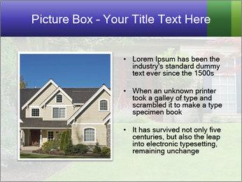 Green Neighbourhood PowerPoint Template - Slide 13