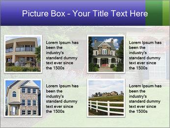 Green Neighbourhood PowerPoint Template - Slide 14