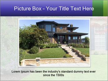 Green Neighbourhood PowerPoint Template - Slide 16