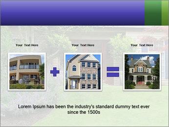 Green Neighbourhood PowerPoint Template - Slide 22