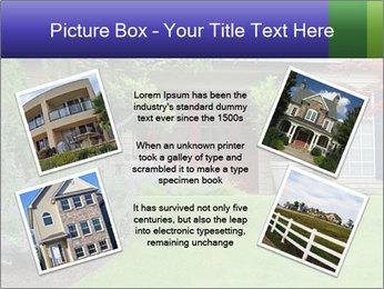 Green Neighbourhood PowerPoint Template - Slide 24
