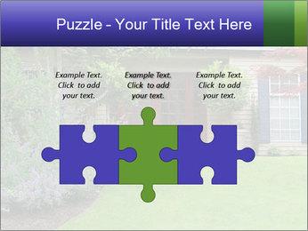 Green Neighbourhood PowerPoint Template - Slide 42