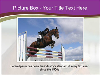 Horse Farm PowerPoint Templates - Slide 16