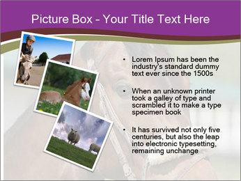 Horse Farm PowerPoint Templates - Slide 17