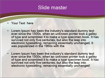 Horse Farm PowerPoint Templates - Slide 2
