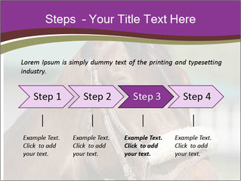Horse Farm PowerPoint Templates - Slide 4