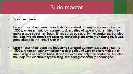 Wealthy House PowerPoint Template - Slide 2