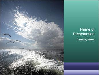 Amazing Seascape PowerPoint Template - Slide 1