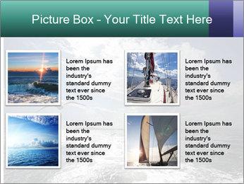Amazing Seascape PowerPoint Template - Slide 14
