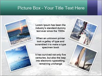 Amazing Seascape PowerPoint Template - Slide 24