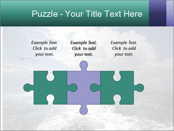 Amazing Seascape PowerPoint Template - Slide 42