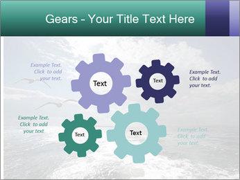 Amazing Seascape PowerPoint Template - Slide 47