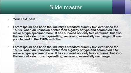 Amazing Seascape PowerPoint Template - Slide 2