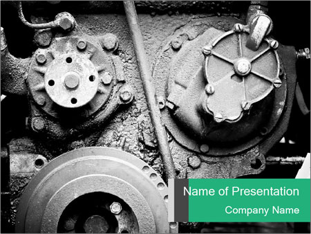 Motor Structure PowerPoint Templates