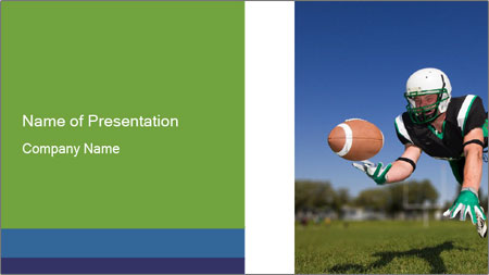 Football Championship PowerPoint Template