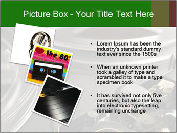 Antique Music Player PowerPoint Template - Slide 17
