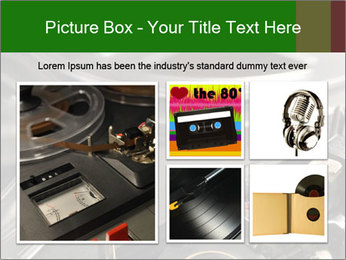Antique Music Player PowerPoint Template - Slide 19