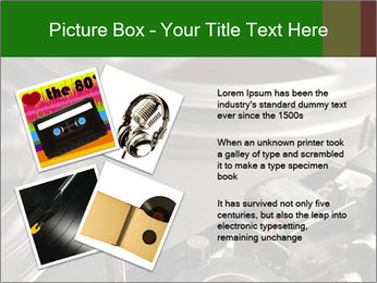 Antique Music Player PowerPoint Template - Slide 23