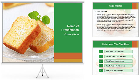 Toats For Breakfast PowerPoint Template