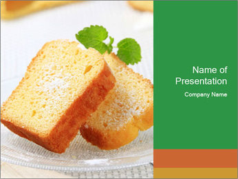 Toats For Breakfast PowerPoint Template - Slide 1