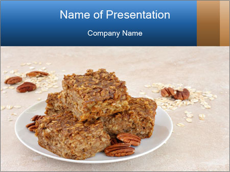 Low Fat Cookies PowerPoint Templates