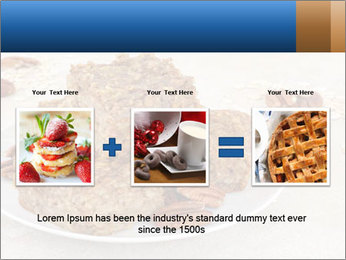Low Fat Cookies PowerPoint Template - Slide 22