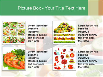 Salad Dieting PowerPoint Templates - Slide 14