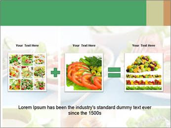 Salad Dieting PowerPoint Templates - Slide 22