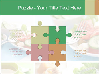 Salad Dieting PowerPoint Templates - Slide 43