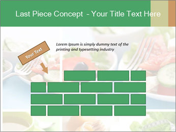 Salad Dieting PowerPoint Templates - Slide 46