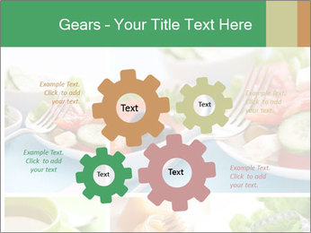 Salad Dieting PowerPoint Templates - Slide 47