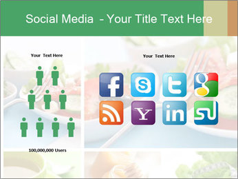 Salad Dieting PowerPoint Templates - Slide 5