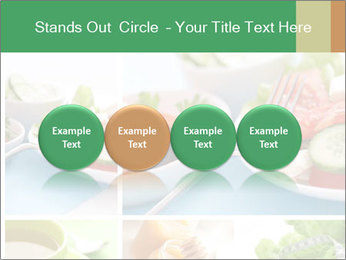 Salad Dieting PowerPoint Templates - Slide 76