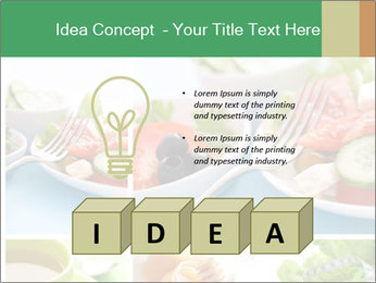 Salad Dieting PowerPoint Templates - Slide 80