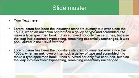 Salad Dieting PowerPoint Template - Slide 2
