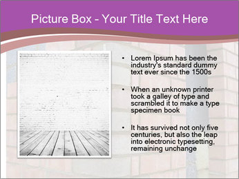 Red Brick Wall PowerPoint Template - Slide 13