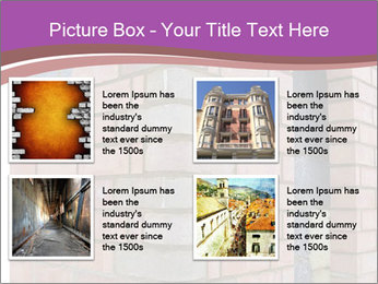 Red Brick Wall PowerPoint Template - Slide 14