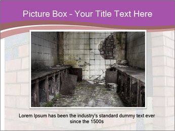 Red Brick Wall PowerPoint Template - Slide 15