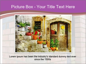 Red Brick Wall PowerPoint Template - Slide 16
