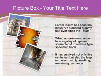 Red Brick Wall PowerPoint Template - Slide 17