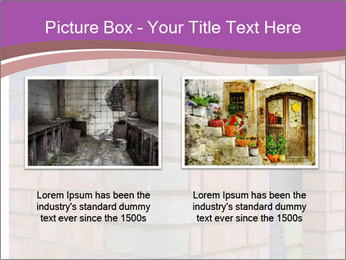Red Brick Wall PowerPoint Template - Slide 18
