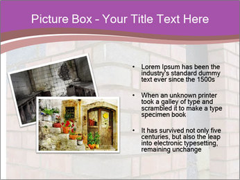 Red Brick Wall PowerPoint Template - Slide 20