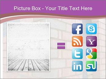 Red Brick Wall PowerPoint Template - Slide 21