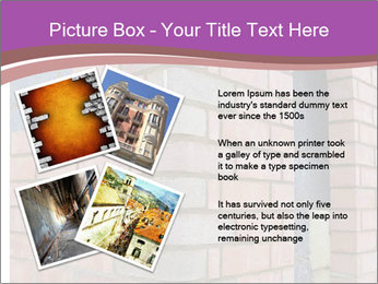 Red Brick Wall PowerPoint Template - Slide 23
