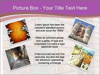 Red Brick Wall PowerPoint Template - Slide 24